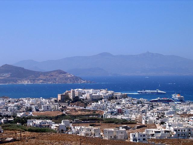 Ostrov Naxos, 1. část
