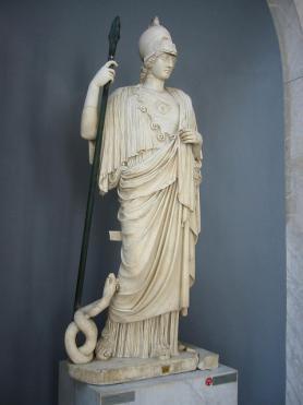 Řecká bohyně Athéna