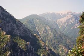 Paralia - okolní pohoří
