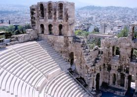 Athény - Herodův Odeon