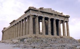 Athény - Parthenón