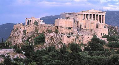 Athény - Akropolis