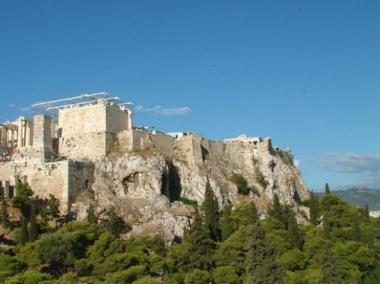 Athénská Akropolis v Řecku