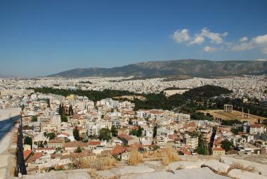 Řecké město Athény