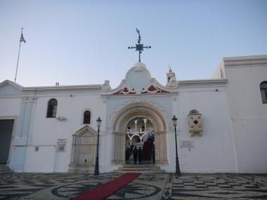 Kostel Panagia Evangelistria na ostrově Tinos