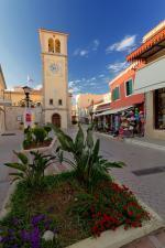Epirus - část městečka Prevezza, Řecko